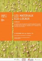 Les matériaux éco-locaux - Neubourg (27), le 12 décembre